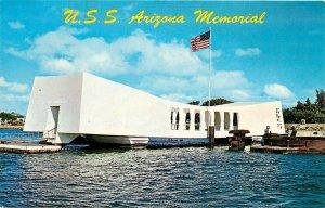 USS Arizona Memorial Pearl Harbor Hawaii HI Postcard