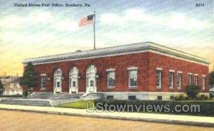 US Post Office, Sunbury - Pennsylvania