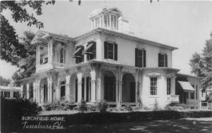 F15/ Tuscaloosa Alabama Real Photo RPPC Postcard 1949 Burchfield Home