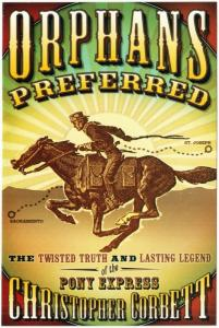 Postcard of Orphans Preferred Pony Express History