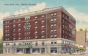Kentucky Ashland Hotel Henry Clay Curteich