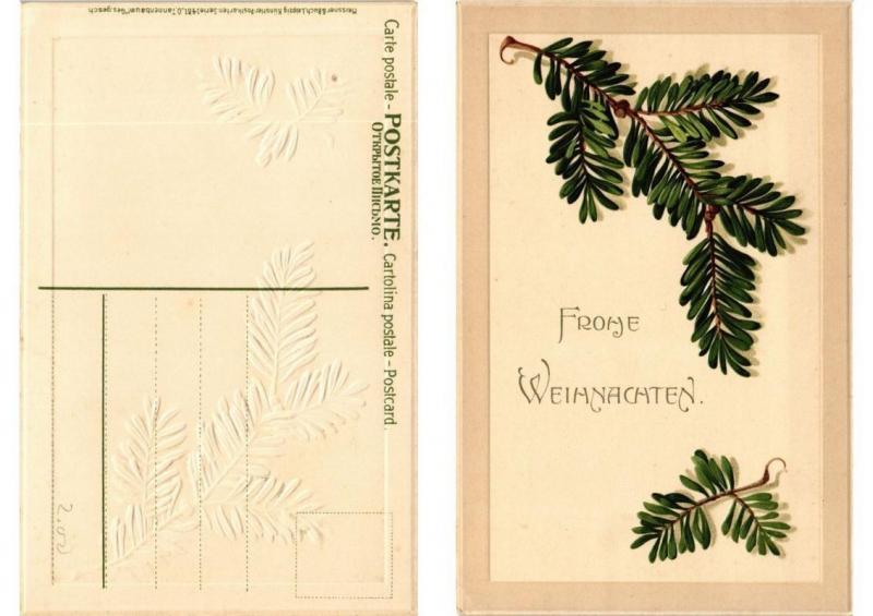 CPA O Tannenbaum! Meissner & Buch Litho Serie 1481 (730603)