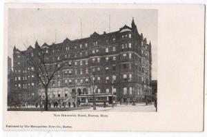 New Brunswick Hotel, Boston MA
