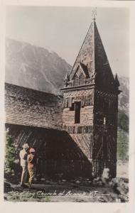 RP: Old Log Church , BENNETT , Y.T. , Canada , 1920s-30s