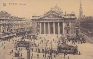 Belgium Bruxelles La Bourse Trolleys
