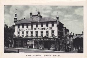 Hotel Chateau Normandie, Place D'Armes, Quebec La Cite, Quebec, Canada, 00-10's