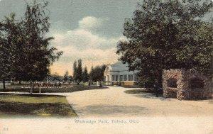 LPS28 TOLEDO Ohio Walbridge Park Postcard