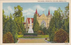 Alabama Mobile The Chapel Spring Hill College Curteich
