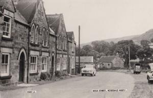 Milk Street Rosedale Abbey Yorkshire Real Photo Postcard