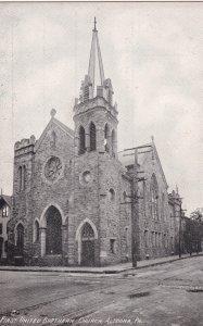 ALTOONA, Pennsylvania, 1900-10s; First United Presbyterian Church
