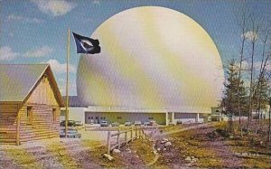 Maine Earth Station At Andover