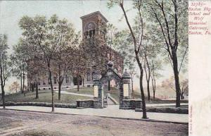 Easton high school and Wolf Memorial Gate Way, Easton,Pennsylvania, 00-10s