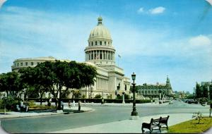 Cuba Havana The Capitol Building 1958
