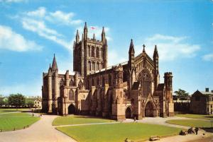 Postcard, Hereford, The Cathedral, Herefordshire 7A
