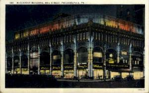 McClatchy Bldg. Philadelphia PA Unused