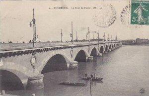 France Bordeaux Le Pont de Pierre
