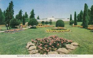 Washington Spokanes Duncan Gardens Rank Among The Foremost Formal Gardens Of ...