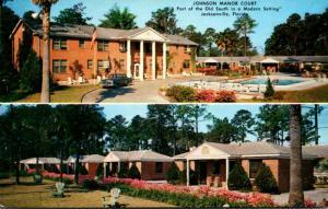Florida Jacksonville Johnson Manor Court 1954