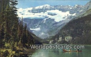 Lake Louise & Victoria Glacier Canadian Rockies Canada 1969