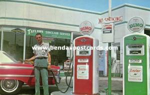 Jeffersonville, Indiana, Taylor's Sinclair Service, Dino Gas Station