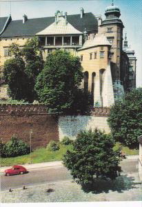 Poland Krakow Fragment zamku krolewskiego na Wawelu