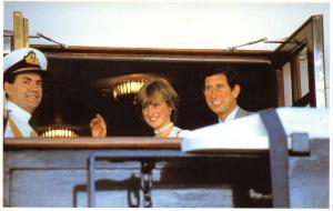 Postcard Royal Wedding 1981, Aboard the Royal Yacht 1 August 1981 #46