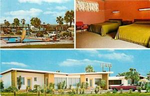 FL, Pensacola, Florida, El Mar The Sea Motel, Dexter Press No. 15861-C