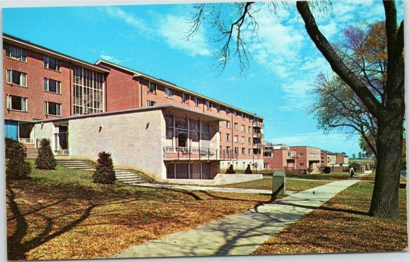 Pennsylvania State University - South Halls postcard