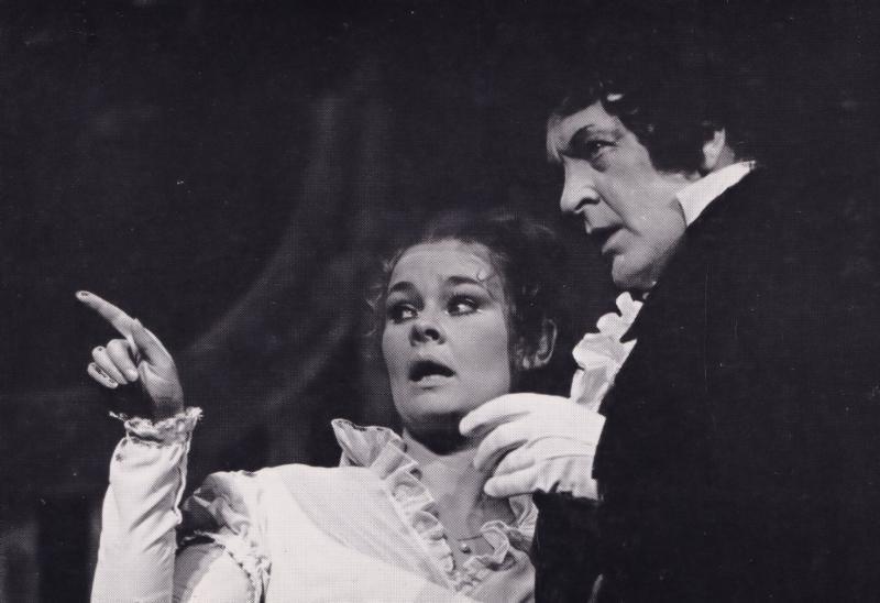Judi Dench Donald Sinden London Assurance Rare Shakespeare Theatre Postcard