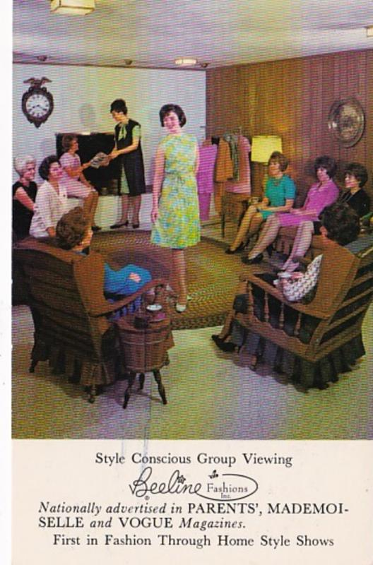 Advertising Beeline Fashions Group Viewing Invitation
