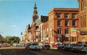 Chillicothe Ohio~Pain & Main Street~Storefronts~Coca-Cola~Bank~Music~50s Cars