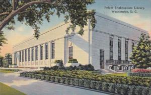 Washington D C Folger Shakespeare Library