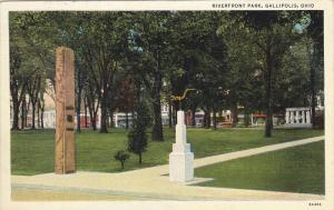 Riverfront Park, GALLIPOLIS, Ohio, 30-40´s