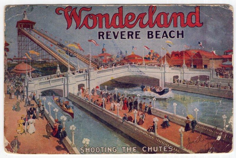 Wonderland, Revere Beach, Shooting The Chutes