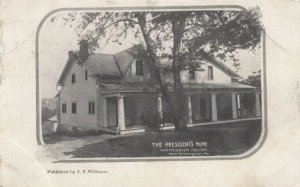 NEW WILMINGTON, Pennsylvania, 1909; The President's Home, Westminster College