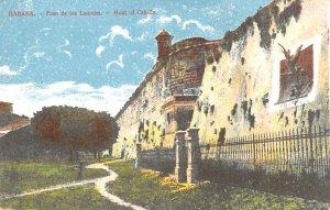 Moat of Cabana Habana Cuba, Republica de Cuba Unused