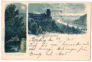Heidelberg, Partie a.d. Schlossgarten