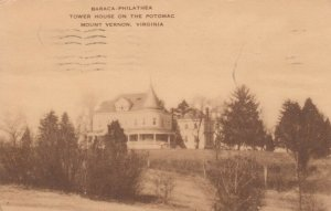 MT. VERNON, Virginia, 1920-30s; Baraca-Philathea, Tower House on the Potomac