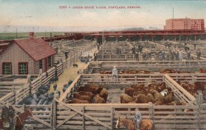Oregon Portland Union Stock Yards sk4120