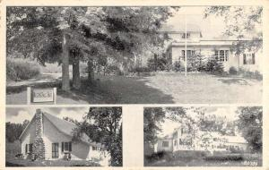 Enfield New Hampshire Besens Forest House Mascoma Lake Antique Postcard K105079