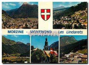 Postcard Modern Morzine Montriond Lindarets