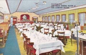 Massachusetts Charlestown Lobster House Restaurant Main Dining Room