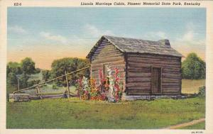 Lincoln Marriage Cabin Pioneer Memorial State Park Kentucky