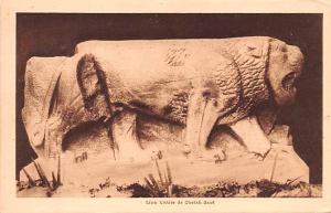 Syria Postcard, Syrie Turquie, Postale, Universelle, Carte Lion hittite de Ch...