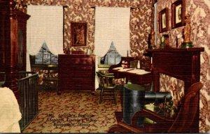 Illinois Springfield Mr Lincoln's Bedroom Abraham Lincoln's Home Cu...
