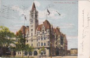 Minnesota St Paul Post Office 1907