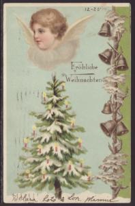 Christmas,Angel,Tree,Bells