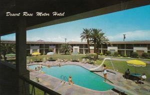 Swimming Pool, Desert Rose Motor Hotel, PHOENIX, Arizona, 40-60´