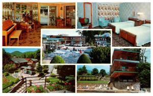 New York Lake George , Lake Crest Resort Motel , multi-view