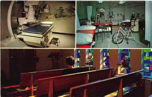 Louisville KY Methodist Evangelical Hospital Physical Therapy Chapel Postcard